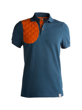 summer blue / orange - herren - kurzarm
