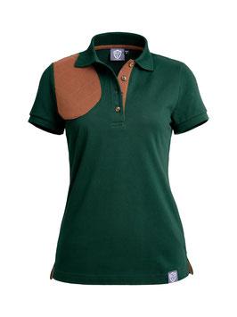 british green / braun - damen - kurzarm