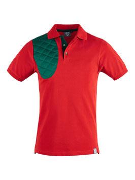 Rot / grün - Herren - kurzarm