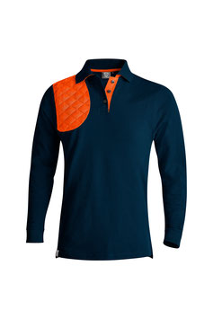 NAVY / ORANGE - HERREN - LANGARM