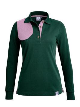 british green / rosé - damen - langarm