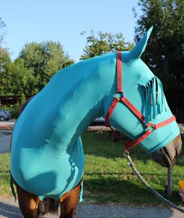 Pferdehaube mit Stirnfransen
