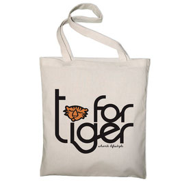 "TOTE BAG ""T for Tiger"""