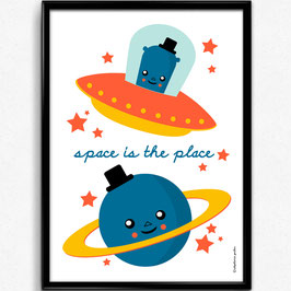 "AFFICHE ""Space is the Place"""