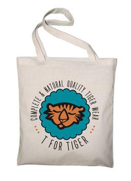 "TOTE BAG ""Hey Tiger"""
