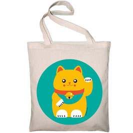 "TOTE BAG ""Lucky cat"""