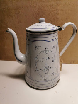 Oude koffiepot emaille