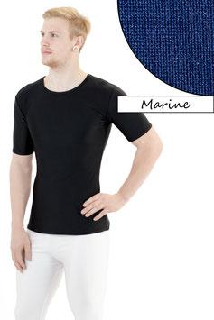 Herren T- Shirt dunkelblau