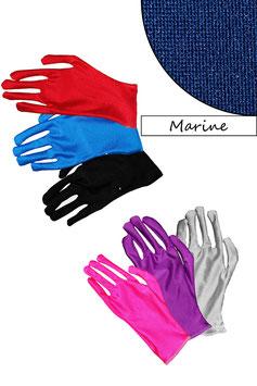 Kurze Handschuhe marine