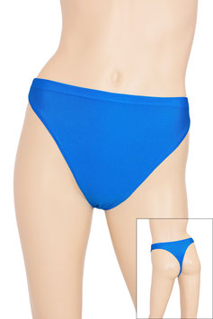 Damen String-Slip royalblau