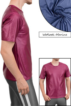 Herren Wetlook T-Shirt Comfort Fit marine