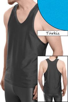 Herren Boxerhemd Comfort Fit türkis