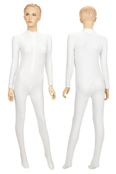 Damen Ganzanzug FRV+SRV+Fuß weiß