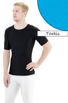Herren T- Shirt türkis