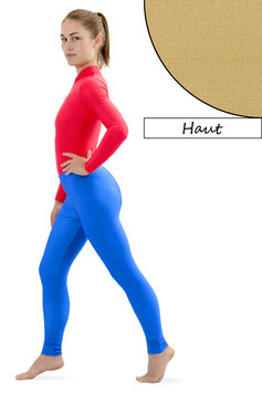 Damen Leggings haut