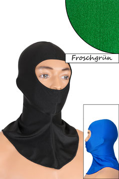 Sturmhaube Augen+Nase offen froschgrün