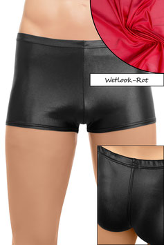Herren Wetlook Shorty rot