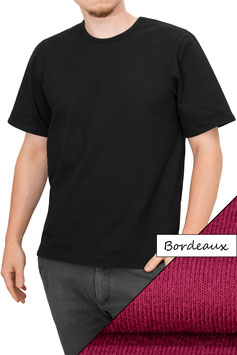 Herren T-Shirt Comfort Fit Athleisure bordeaux