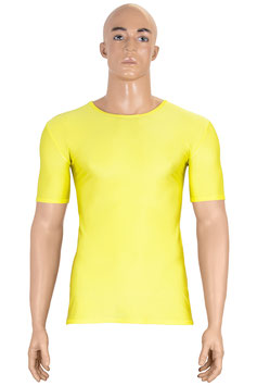 Herren T- Shirt gelb
