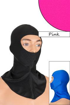 Sturmhaube Augen+Nase offen pink