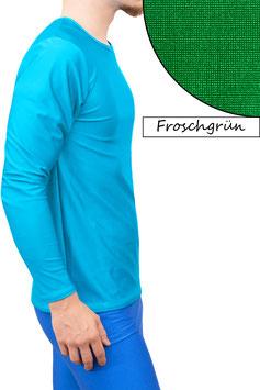 Herren Longsleeve T-Shirt Comfort Fit froschgrün