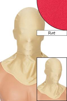 Kopfhaube geschlossen rot