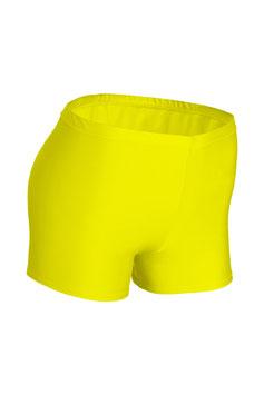 Damen Hotpant gelb