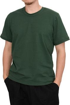 Herren T-Shirt Wide Fit Athleisure waldgrün