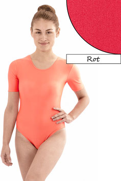 Damen Body kurze Ärmel rot