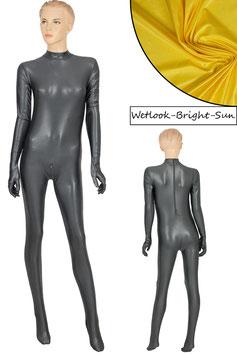 Damen Wetlook Ganzanzug RRV+Hand+Fuß bright-sun