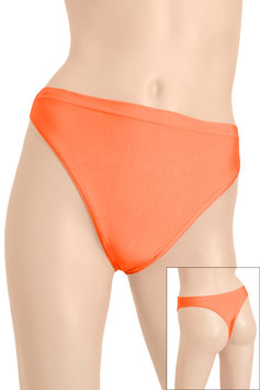 Damen String-Slip orange