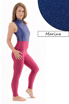 Damen Leggings High-Waist marine