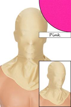 Kopfhaube geschlossen pink
