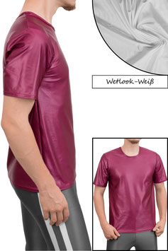 Herren Wetlook T-Shirt Comfort Fit weiß