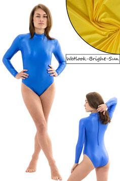Damen Wetlook Body lange Ärmel RRV bright-sun