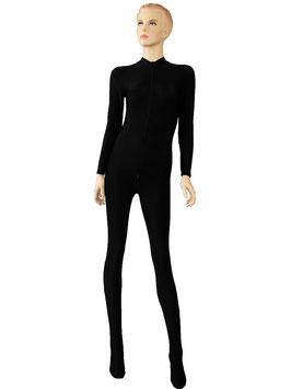 Damen Ganzanzug FRV+SRV+Fuß schwarz
