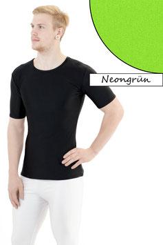 Herren T- Shirt neongrün