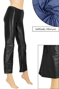Damen Wetlook Jazzpant marine