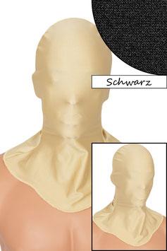 Kopfhaube geschlossen schwarz
