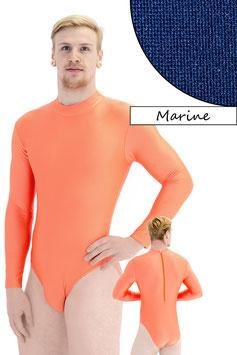 Herren Body lange Ärmel RRV marine