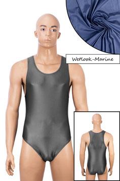 Herren Wetlook Body Boxerschnitt marine