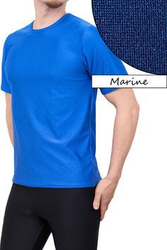 Herren T-Shirt Comfort Fit dunkelblau