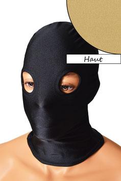 Kopfhaube (Maske) haut, mit Löchern für Augen