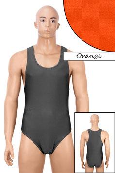 Herren Body Boxerschnitt orange