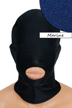 Kopfhaube (Maske) marine, Mund offen