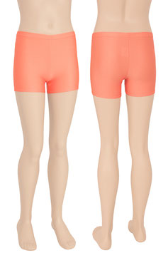 Kinder Kurzradler/ Hotpant orange