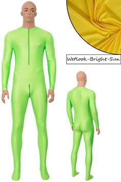 Herren Wetlook Ganzanzug FRV+SRV+Fuß bright-sun