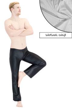 Herren Wetlook Jazzpant weiß