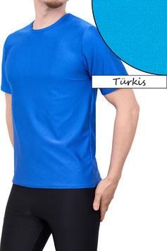 Herren T-Shirt Comfort Fit türkis