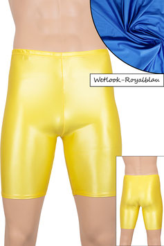 Herren Wetlook Radlerhose royalblau